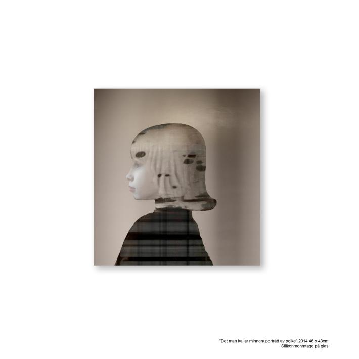 det man kallar minnen_porträtt av pojke_46x43cm